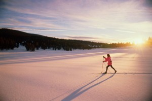 Cross-country skiing,Steamboat Springs,Colorado,USA
