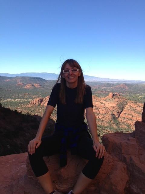 Natalie Lassen in ritiro healing a Sedona, AZ